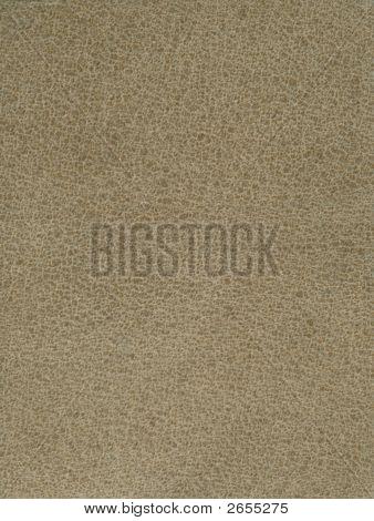 Textured Khaki Leather