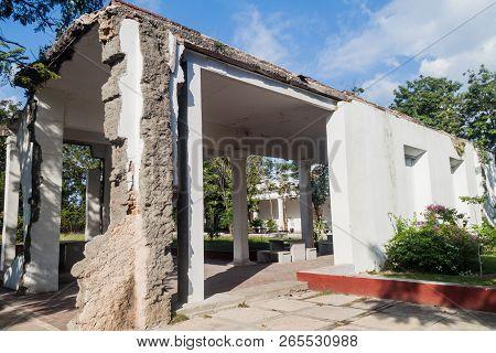 Ruins Of The Former Saturnino Lora Civil Hospital, Important Place Of Cuban History, Santiago De Cub