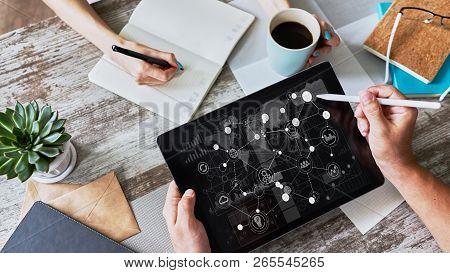 Business Organizational Structure, Strategy Development, Erp - Enterprise Resource Planning Concept.