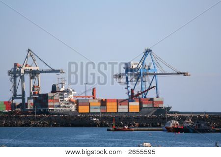 Containers At Port