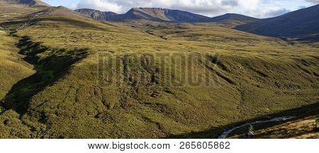 Cairngorm Ridges Of Coire Cas, Fiacaill Coire An T-sneachda, And Fiacaill A Choire Chais  Cairngorm