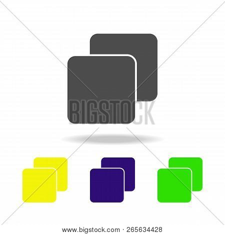 Strata Multicolor Icon. Element Of Web Icons.  Signs And Symbols Icon For Websites, Web Design, Mobi