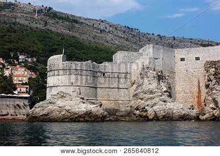 Fortress Bokar In Dubrovnik, Croatia, Started In 1461, Completed To Its Preset State In 1570, Consid