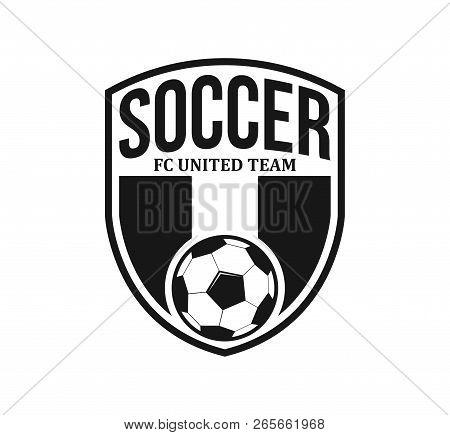 Soccer Football Crest Emblem Vector Logo Design Inspiration