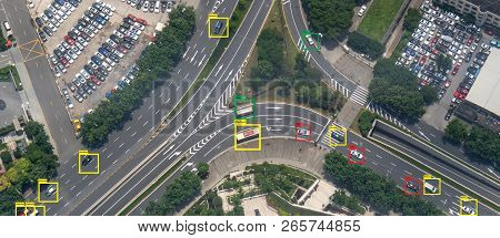Iot Machine Learning With Speed Car And Object Recognition Which Use Artificial Intelligence To Meas