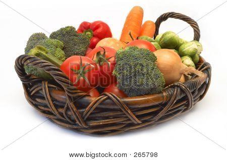 Vegetables On The Basket