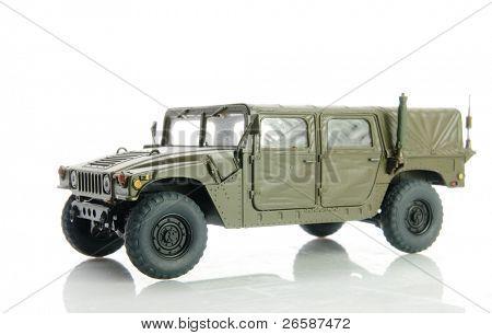 Isolated army h?mvee