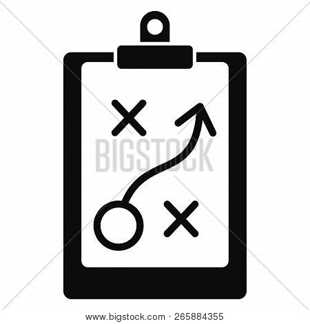 Decision Strategy Icon. Simple Illustration Of Decision Strategy Icon For Web Design Isolated On Whi