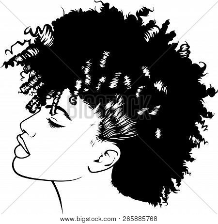 African American Pretty Lady Classy  Diva Queen Power Strong Female Woman Power Praying God Believe