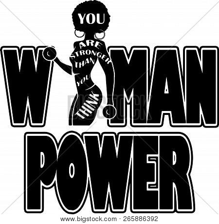 African American Pretty lady Classy Lady Diva Queen Power Strong Female Woman Power Praying God Believe poster