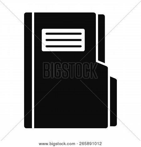 Folder Icon. Simple Illustration Of Folder Icon For Web Design Isolated On White Background