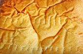 Close up texture of pastry in horizontal composition poster