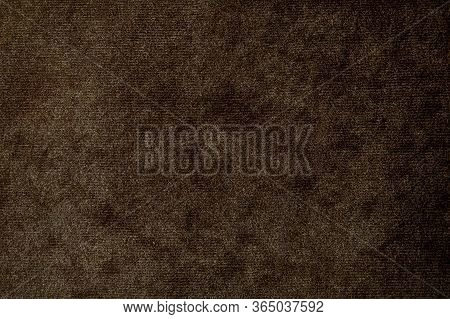 Brown Suede Texture. The Texture Is Faux Suede