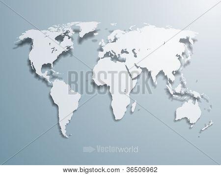 3d vector map