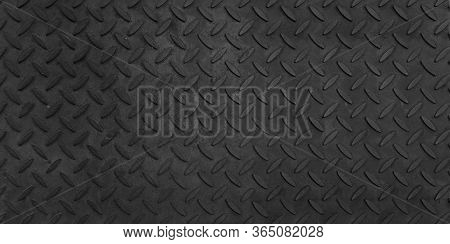 Steel Plate Pattern Manhole Cover Of Black Dark Color ,black Dark Grey Checker Plate Abstract Floor