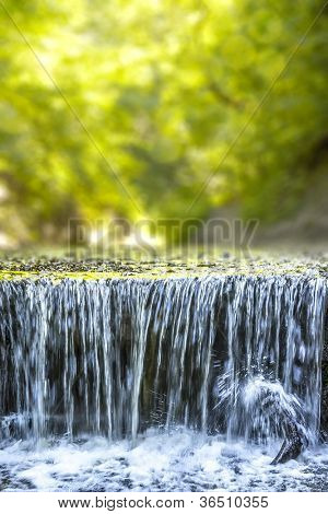 An image of the nice waterfall at the P�¤hler Schlucht in Bavaria Germany