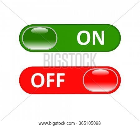 On and Off switch button