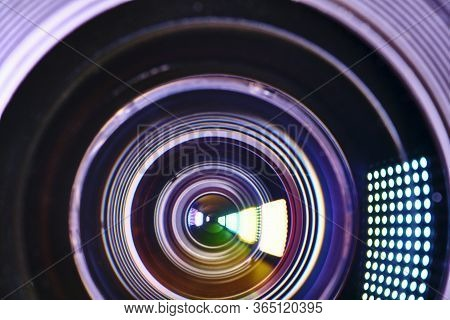 Dirty Close-up Lens Macro Color Low Ligh