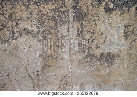 A Blemished Diistresed Grunge Textured Concrete Surface