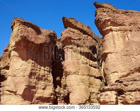 Timna Park And King Solomon's Mines National Park Negev Desert Israel Major Toursit Attraction Landm