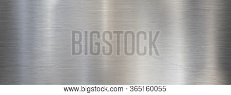 Fine metal brushed wide steel or aluminum textured background