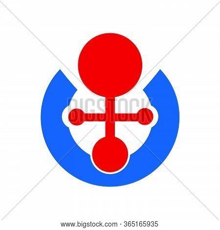Medical Or Marine Organization Logo And Vector Icon