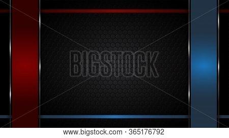 Background Redblue Cop