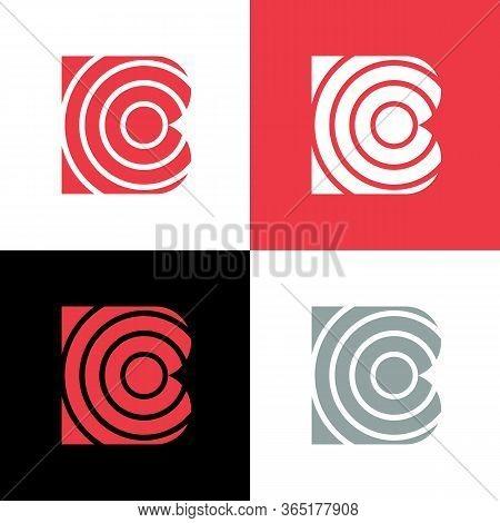 Abstract Letter B Logo Icon, Vector Illustration Design