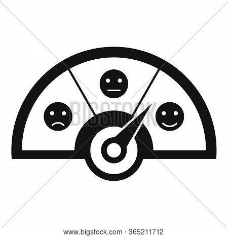 Progress Credit Score Icon. Simple Illustration Of Progress Credit Score Vector Icon For Web Design