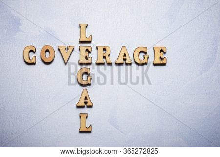Legal coverage text in a colored paper.