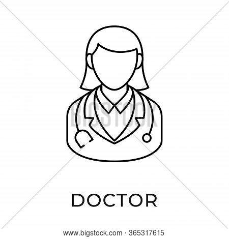 Doctor. Doctor icon. Doctors vector. Doctor icon vector. Doctor illustration. Doctor logo template. Doctor and patient icon design. Medical Doctor icon vector. Doctor vector icon flat design for web icons, logo, sign, symbol, app, UI.