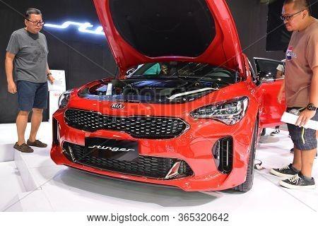 Pasay, Ph - Apr 7 - Kia Stinger At Manila International Auto Show On April 7, 2019 In Pasay, Philipp
