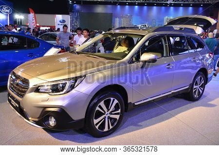 Pasay, Ph - Apr 7 - Subaru Outback At Manila International Auto Show On April 7, 2019 In Pasay, Phil