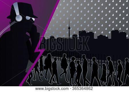 Eavesdropping Spy Usa Germany Berlin America Spying