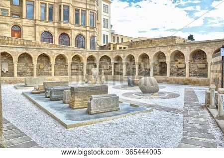 Baku, Azerbaijan - June 24, 2012: The Palace Of The Shirvanshahs Is A 15th-century Palace Built By T