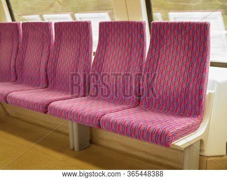 Prague, Circa April 2011 - Train Seats Empty Useful As Travel Concept, In Prague, April 2011