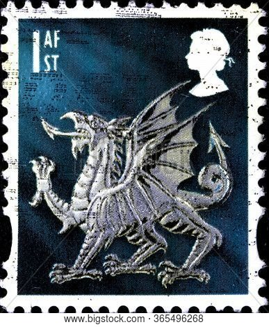 02.11.2020 Divnoe Stavropol Territory Russia Postage Stamp Great Britain Regional Postage Stamps Wal