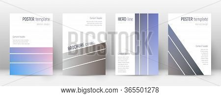 Flyer Layout. Geometric Shapely Template For Brochure, Annual Report, Magazine, Poster, Corporate Pr