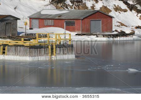 Icy Wharf