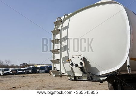 Special Vehicle For Transporting Water And Other Technical Fluids Or Gas, Truck With Tank