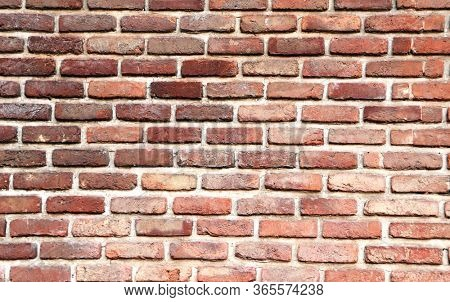 Full background with texture of old brick wall
