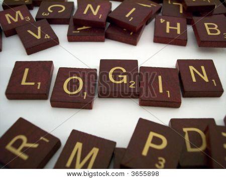 Login Letter Tiles