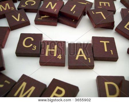 Chat Letter Tiles