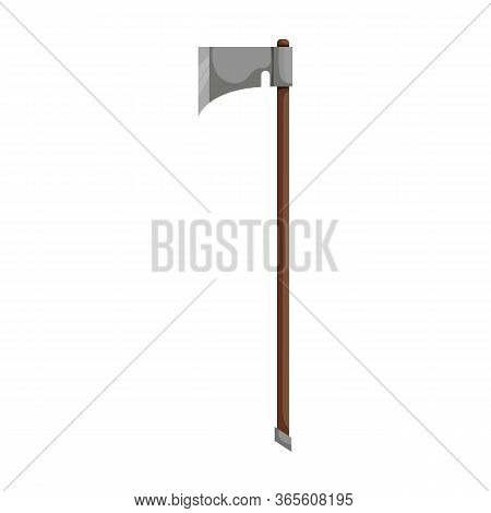 Double Ax Vector Icon.cartoon Vector Icon Isolated On White Background Double Ax.
