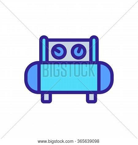 Technology Sensors Icon Vector. Technology Sensors Sign. Color Symbol Illustration
