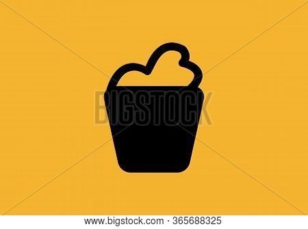Bucket Icon Simple Sign. Bucket Icon Flat Vector Illustration For Graphic And Web Design.