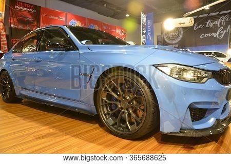 Pasay, Ph - Nov 30 - Bmw Car At Manila Auto Salon Car Show On November 30, 2018 In Pasay, Philippine