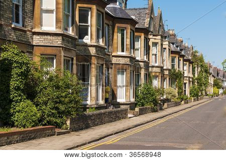 Houses in English street