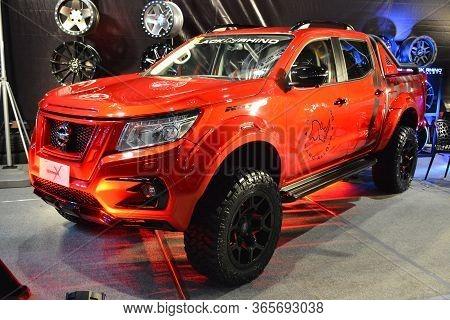 Pasay, Ph - Nov 30 - Nissan Warrior X Pick Up At Manila Auto Salon Car Show On November 30, 2018 In