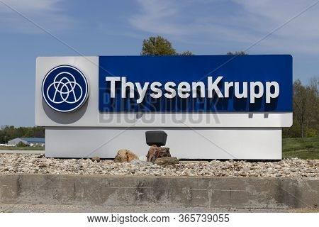 Terre Haute - Circa May 2020: Thyssenkrupp Auto Parts Manufacturing. Thyssenkrupp Produces Steering